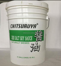 Healthy Less Salt Soy Sauce For Restaurants -18.9L/Drum
