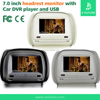 7 inch high-definition video devices input Car Headrest DVD player