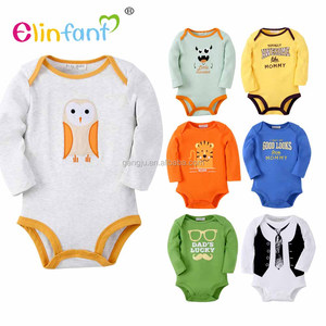 Hot selling Wholesale Organic Cotton Baby Romper Bodysuit Set