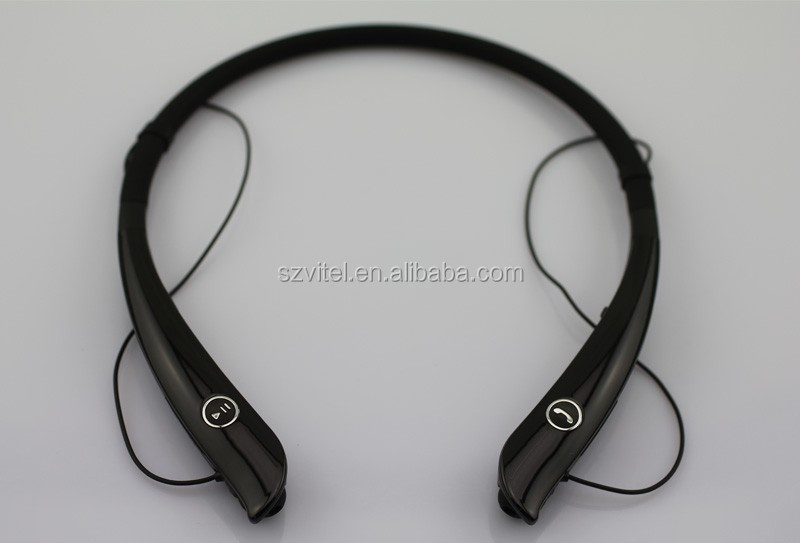 2016 Unique Most Comfortable & Soft Neckhung Custom Logo Bluetooth Headset HV-930