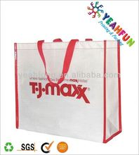 Fashional pp coated non woven shopping bag