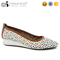 Cheap wholesale shoes in China Italian brands fashion flat shoes women sepatu