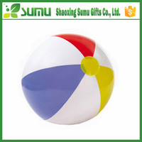 high quality promotional custom design beach ball sitting
