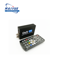 Car DVB T2 Tv Turner Mobile Digital Car DVB-T2 TV Receiver HD 1080P MPEG4