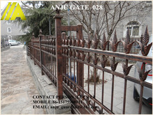 charming factory with quality-assured motor wrought iron gate