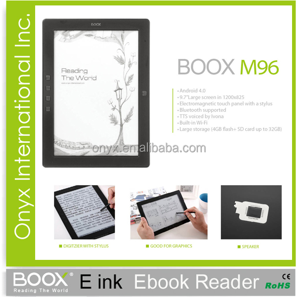 9.7 inch e-ink ebook