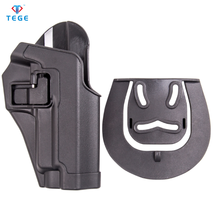 One injection molding auto lock military polymer pistol holster for SIG SAUER P226