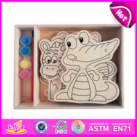 2015 New wooden magnetic drawing board ,popular kids erasable drawing board,hot sale wooden drawing board for baby W03A044-S