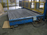 sell moving roller conveyor working table,large roller platform
