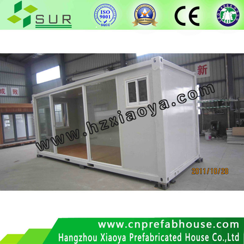 20ft container for sale/cheap flexible prefab residential container house