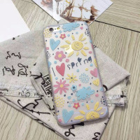 China Alibaba PC TPU Soft Sun Heart Cell Phone Case for samsung note edge case