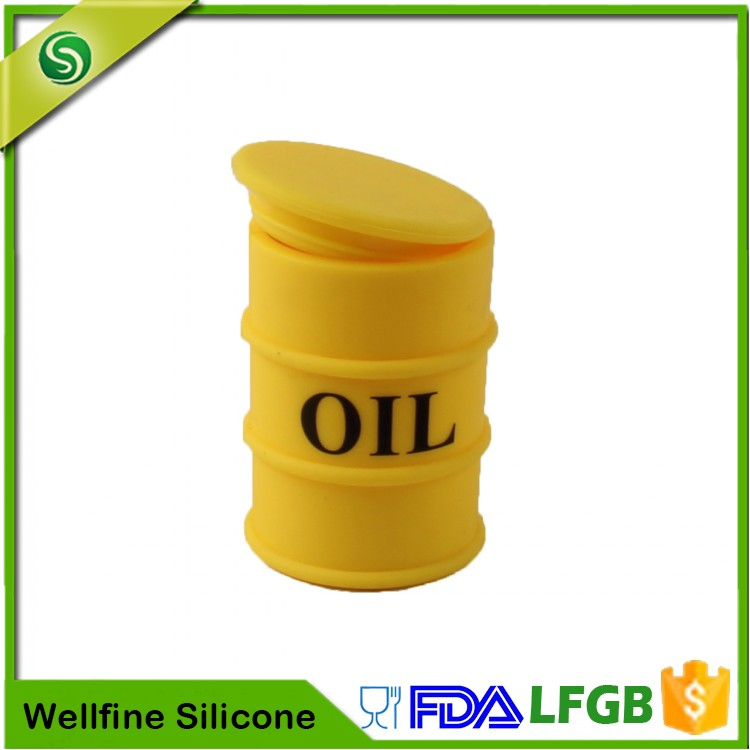 Silicone Jars Dab Wax Container,Glow In The Dark Silicone Oil Container