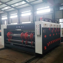 Semi automatic printing slotting die cutting machine for carton box
