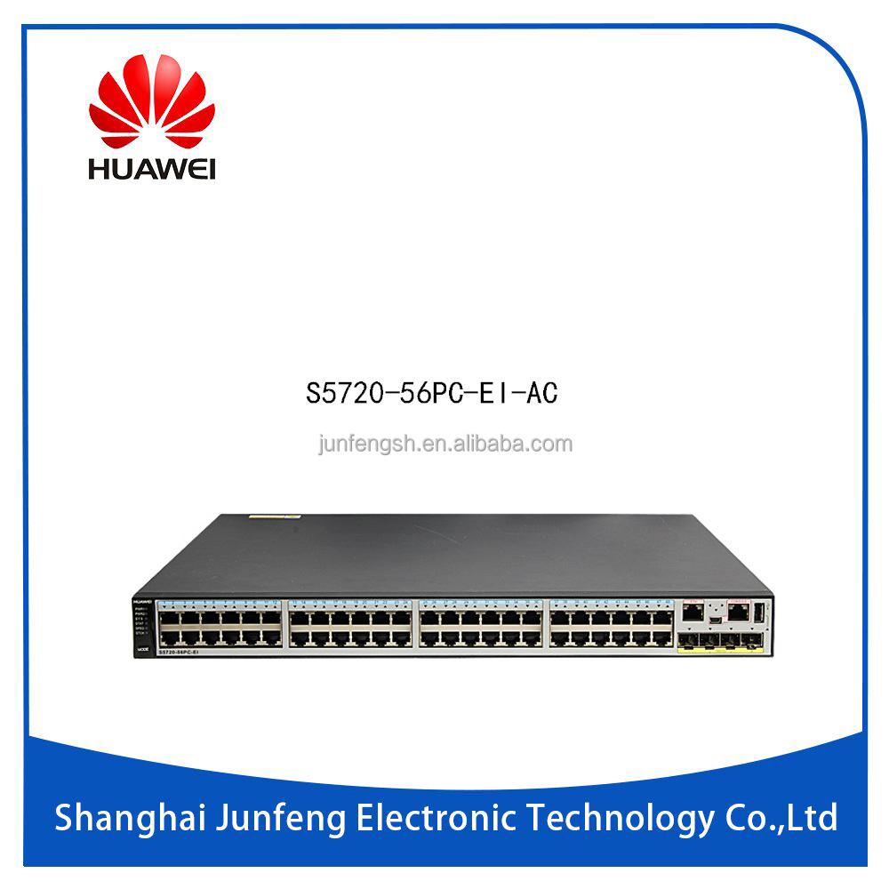Huawei Quidway S5700 Series Switch 48 port Gigabit Ethernet Layer 3 Network Switch S5720-56PC-EI-AC