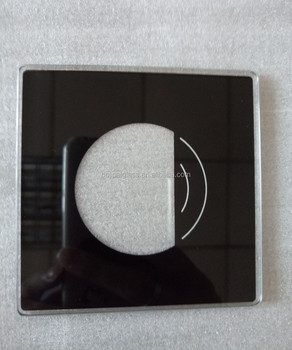 4mm tempered glass touch switch, glass switch frame, modular switch plates