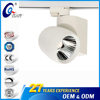 UlL Certificate Exhibition Hall Focus Cob Track Led Lamp Aluminum 15W 25W Spot Rail Light