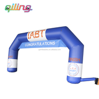 Promotional inflatable arch model for advertising/cheap beautiful inflatable arch for sale