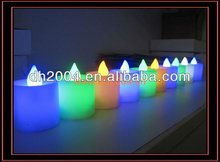 2014 LED promotional flashing led candle