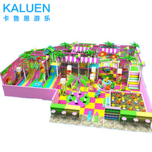 Colorful design used indoor playground equipment for sale