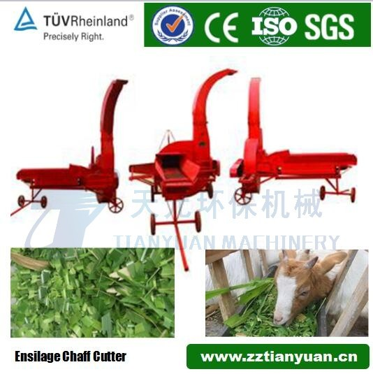 agricultural corn silage stalk shredder and silage cutting machine chaff cutter