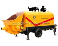 mini used concrete pump diesel 15m3/h output with high classic Power, hydraulic, pumping, Lubrication, cooling system