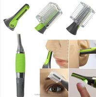 Nose Hair Trimmer Vibrissa Shaving Device Trimer Multifunction Led Hair Ear Nariz Electric Shaver Razor