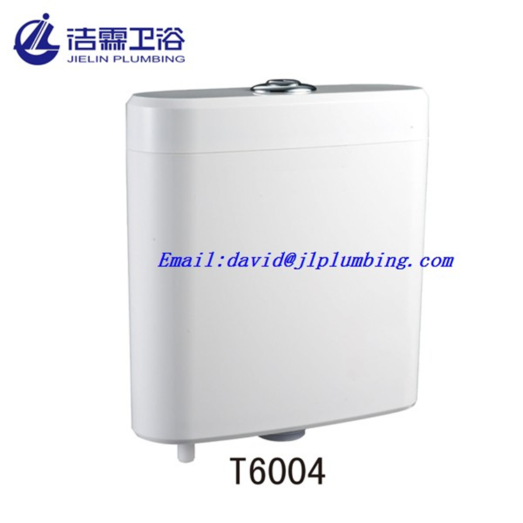 Wall hung PP material water saving toilet cistern