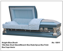 Knight Blue Brush With Colors Of Casket Coffin