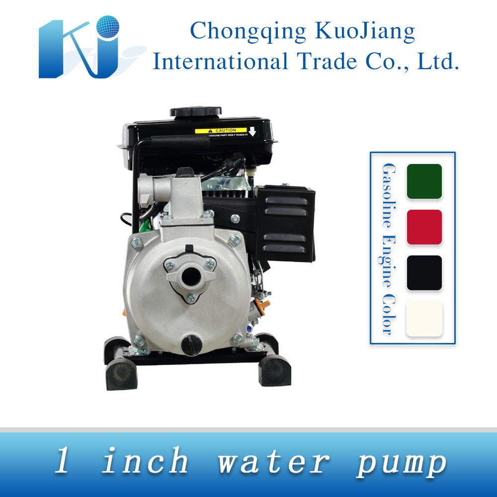 Cheapest price 1 Inch water Pump Small Portable Gasoline Water Pump