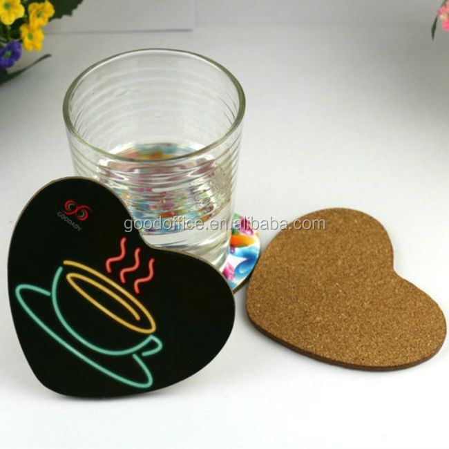 Cheapest sublimation wooden tea coasters / mdf coasters /souvenir mdf coaster