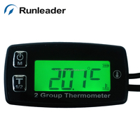 2 group temperatrure meter for industrial devices motorcycle lawn mower dirt bike pit bike ATV UTV snowmobile chainsaw