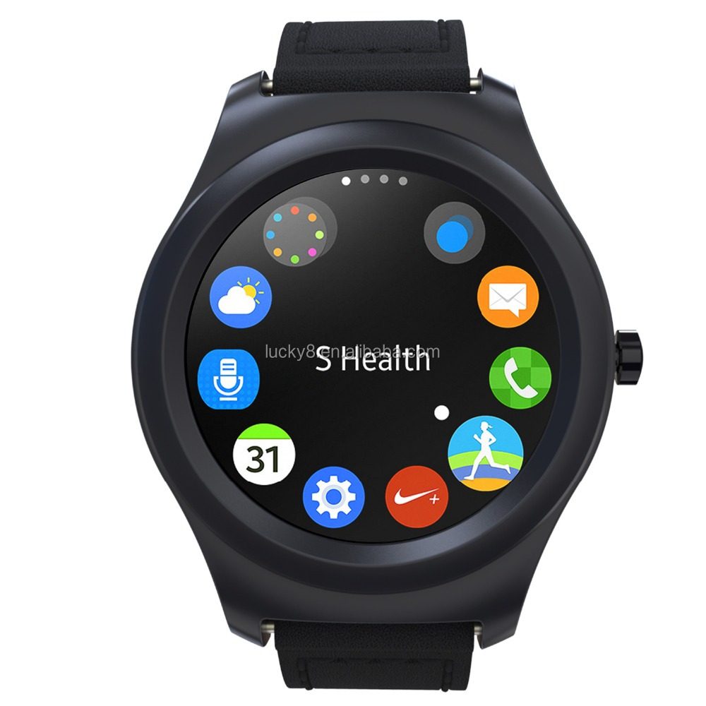 Round Touch Screen Smart Watch Q2 Smart Watch Phone for IOS Android Smartwatch