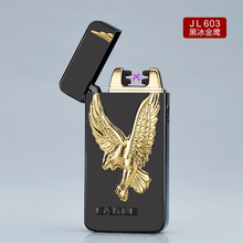 metal cheap custom sublimation plasma usb lighter electronic double arc lighter