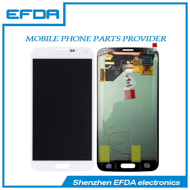 Hot products lcd for mobile phone Good Quality Touch Screen Digitizer for Samsung Galaxy S5 i9600