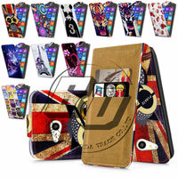 For Nokia Lumia 730 High Quality Print Flip PU Leather Case Cover Moible Phone Case