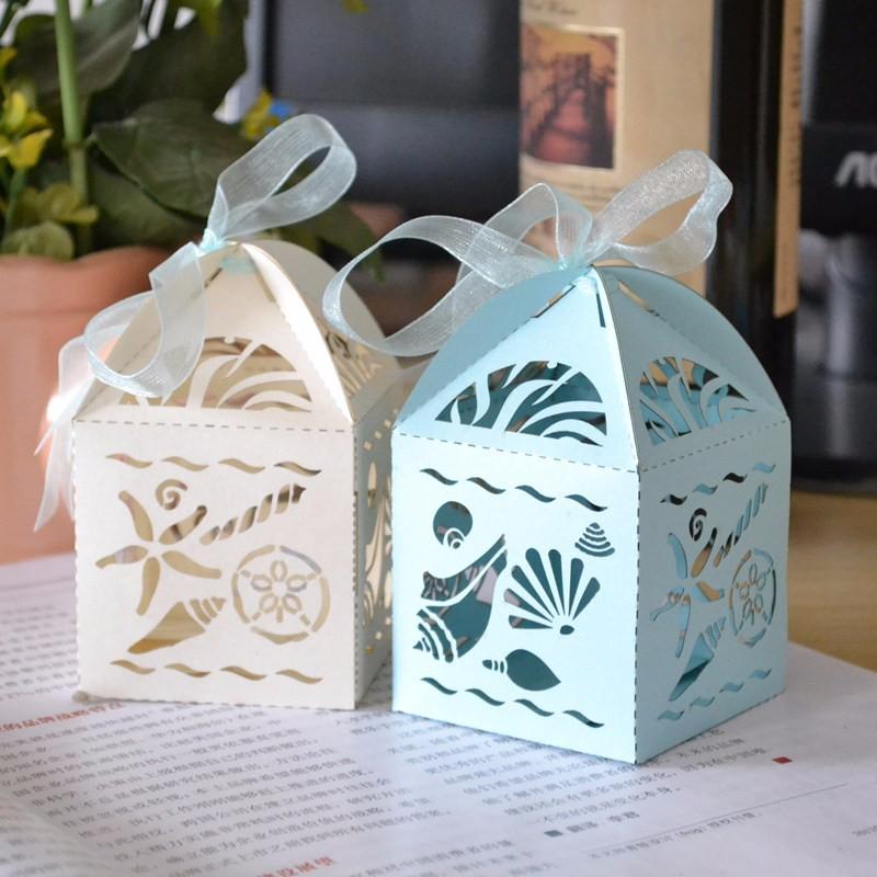 Sandy Beach Wedding Favorsbeach Treasures Favor Boxes For Any Nautical Or Beach Theme