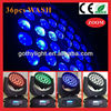 CE RoHS 10w 36pcs wash 4in1 led effects lighting