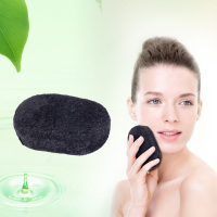 2015 New Arriving Wholesale Dry Charcoal Bamboo Konjac Sponge Organic