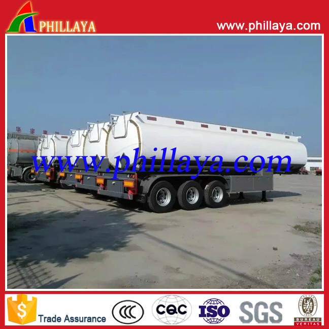 3 axle Oil tank fuel tanker, dolly semi-trailer,semi trailer Oil tank semi trailer for sale