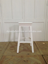 tall rustic wooden bar stool