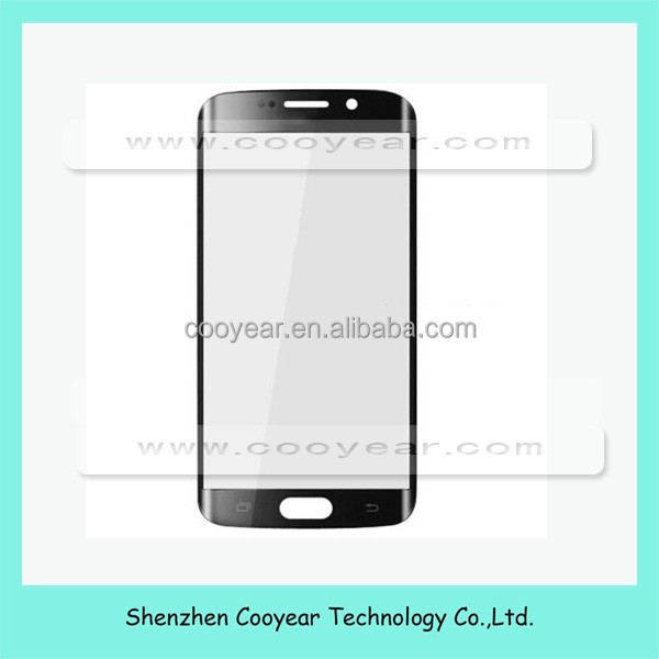 For Samsung GALAXY S6 Edge G9250 front glass lens touch <strong>screen</strong> golden