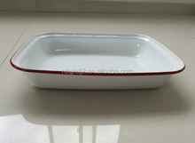 Top Selling Product square enamel plate &carbon steel enamel dish