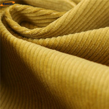 100%cotton corduroy coated 16wales