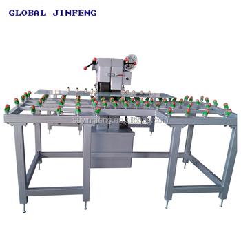Cheap price glass sand belt grinding machine with CE
