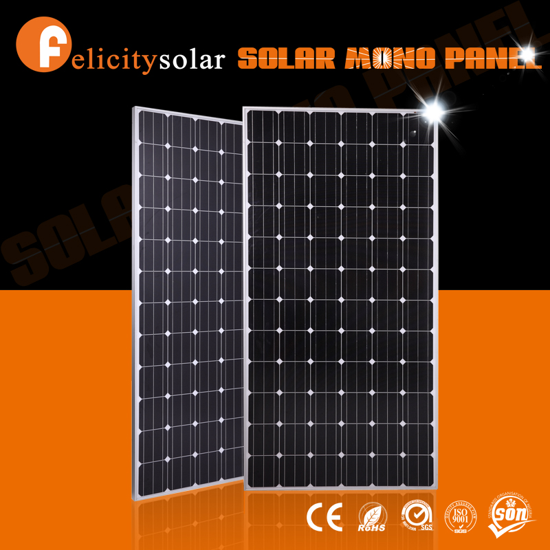 Guangzhou Felicity factory mono 300w high efficiency solar panel prices in pakistan