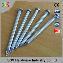 High cost-effective hardened steel concrete nails cement nails black nails zinc plated