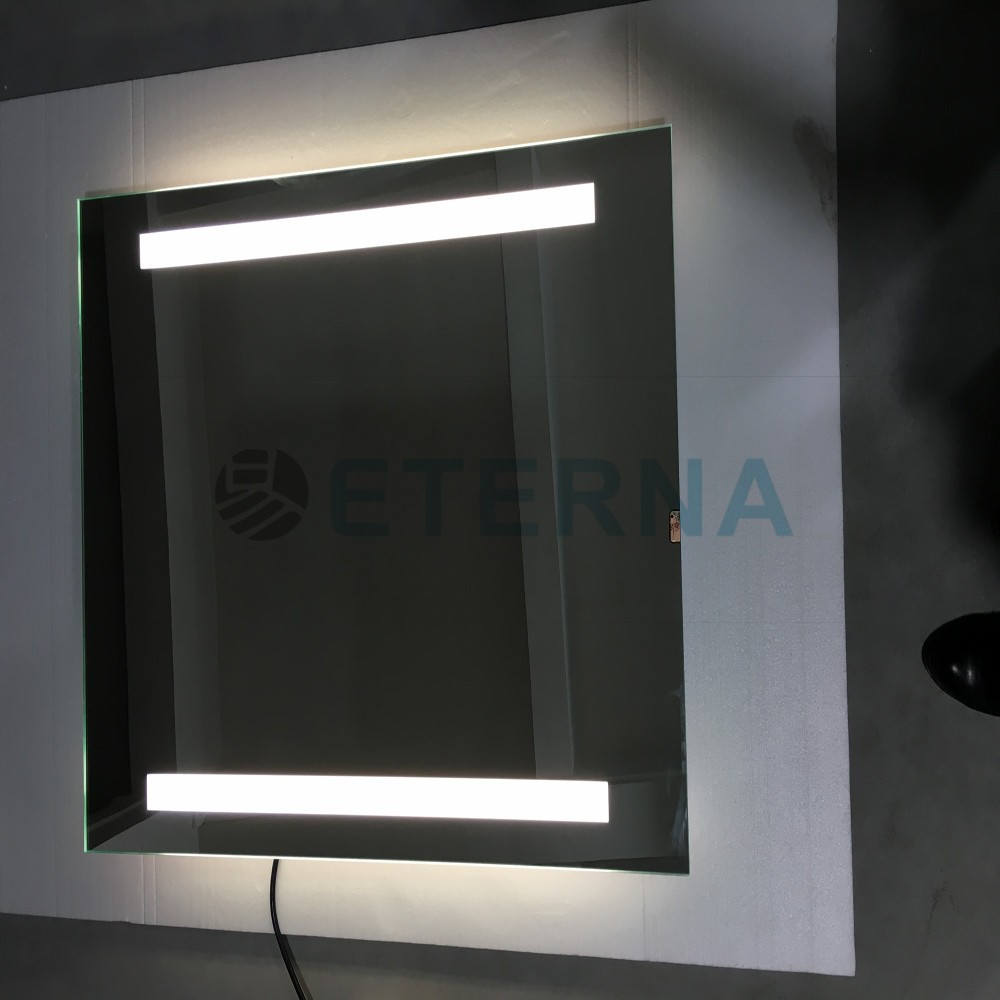 Eterna tactile commutateur led radio bluetooth intelligent for Miroir intelligent