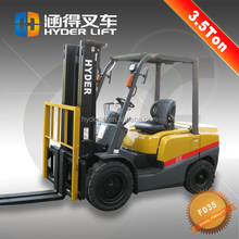 promotion of purchasing 3.5t diesel forklift free for forklift spare parts