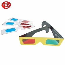 Custom Anaglyph 3D Paper Glasses / Red Cyan Glass / Red Blue Glasses