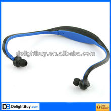 HANDSFREE HEADSET SPORTS MP3 MUSIC PLAYER TF CARD SLOT